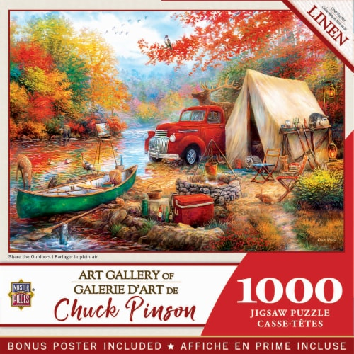 MasterPieces® Chuck Pinson Share the Outdoors Jigsaw Puzzle Perspective: front