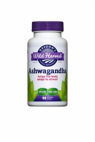 Oregon's Wild Harvest Ashwagandha Supplement Perspective: front