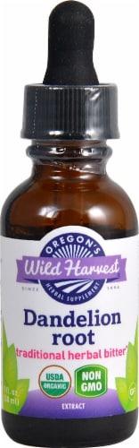 Oregon's Wild Harvest Organic Dandelion Root Extract Perspective: front