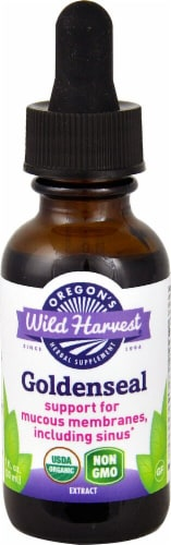 Oregon's Wild Harvest  Organic Goldenseal Extract Perspective: front