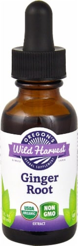 Oregon's Wild Harvest  Organic Ginger Root Perspective: front