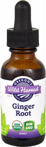 Oregon's Wild Harvest Organic Ginger Root Extract Herbal Supplement Perspective: front