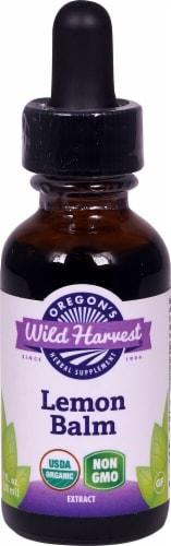 Oregon's Wild Harvest Organic Lemon Balm Extract Perspective: front