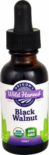 Oregon's Wild Harvest Organic Black Walnut Extract Perspective: front