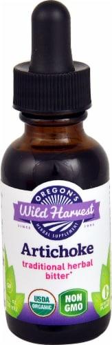 Oregon's Wild Harvest Organic Artichoke Extract Herbal Supplement Perspective: front