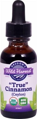 Oregon's Wild Harvest True Cinnamon Extract Perspective: front
