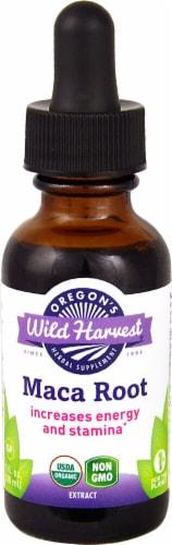 Oregon's Wild Harvest Organic Maca Root Extract Herbal Supplement Perspective: front