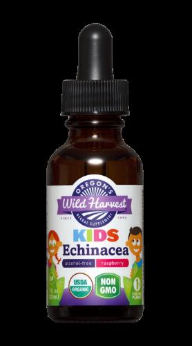 Oregon's Wild Harvest Kids Echinacea Supplement Extract Perspective: front