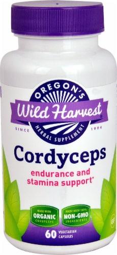 Oregon's Wild Harvest  Organic Cordyceps Perspective: front
