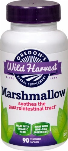Oregon's Wild Harvest  Marshmallow Herb Supplement Perspective: front
