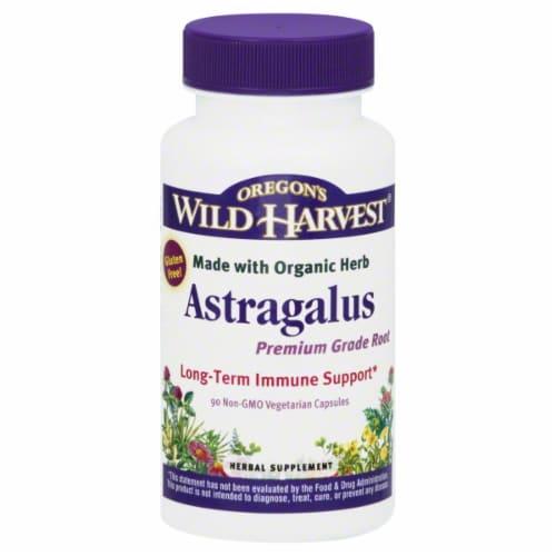Oregon's Wild Harvest Astragalus Herbal Supplement Perspective: front