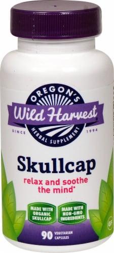 Oregon's Wild Harvest  Skullcap Herbal Supplement Perspective: front