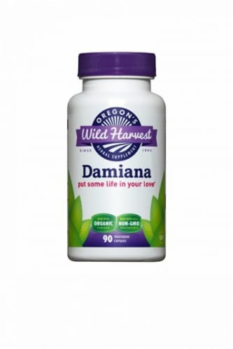 Oregon's Wild Harvest Organic Damiana Perspective: front