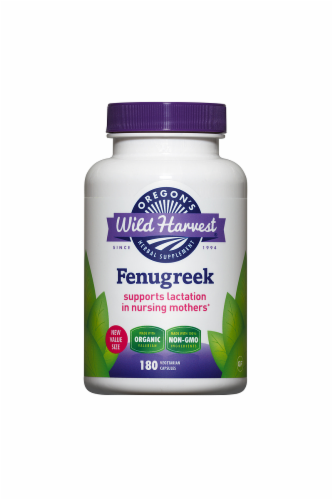 Oregon's Wild Harvest Organic Fenugreek Perspective: front