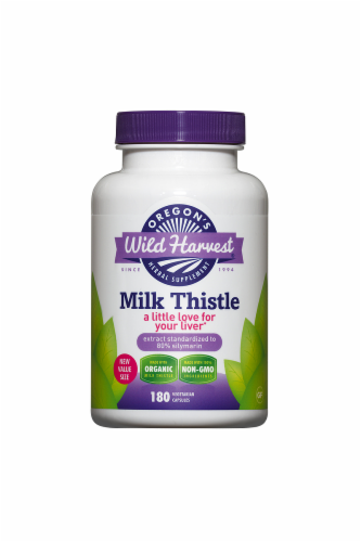 Oregon's Wild Harvest Organic Milk Thistle Perspective: front