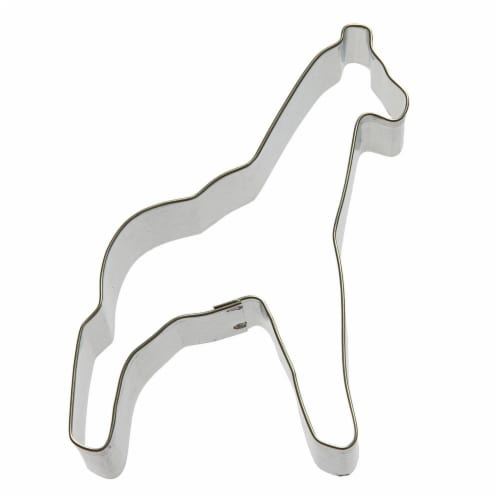 Giraffe Cookie Cutter 4.25 in B880 Perspective: front