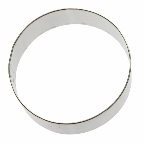 Round Circle Cookie Cutter 3.5 in B1310 Perspective: front
