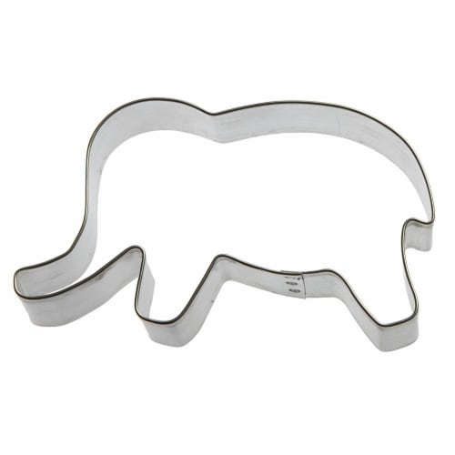 Elephant Cookie Cutter 4 in B971 Perspective: front