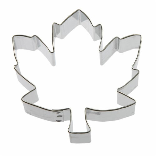 Maple Leaf Cookie Cutter 3.5 in B1295 Perspective: front
