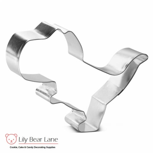 T-Rex Dinosaur Cookie Cutter By Lily Bear Lane 4.75 in B1505 Perspective: front