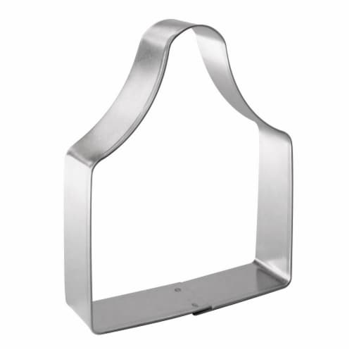 Ear Tag or Bread Board Cookie Cutter 4 in B1530 Perspective: front