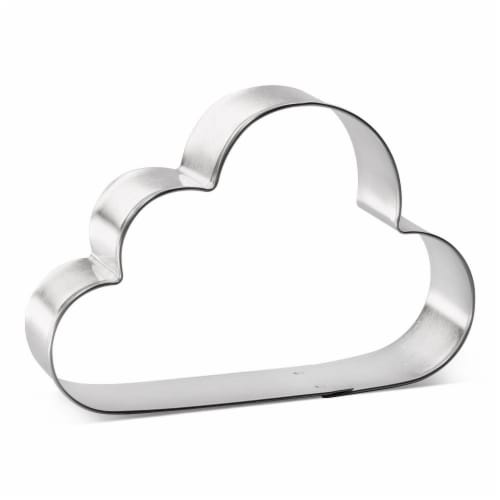 Clouds Cookie Cutter 4 in B1574 Perspective: front