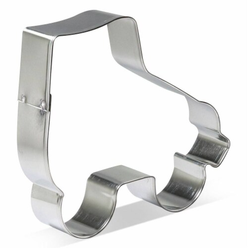 Roller Skate Cookie Cutter 4.5 in B1612 Perspective: front