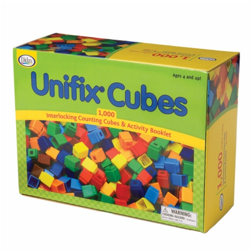 Didax UNIFIX® Cube Set Perspective: front
