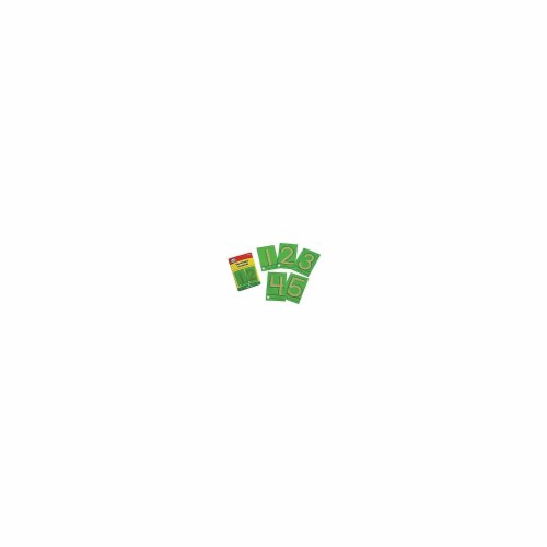 Didax DD-210828 Tactile Sandpaper Numerals Perspective: front