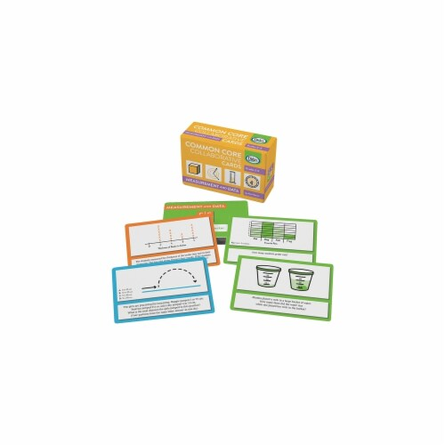 Didax DD-211527 Measurement & Data Common Core Collaborative Cards Perspective: front
