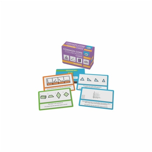 Didax DD-211528 Geometry Common Core Collaborative Cards Perspective: front