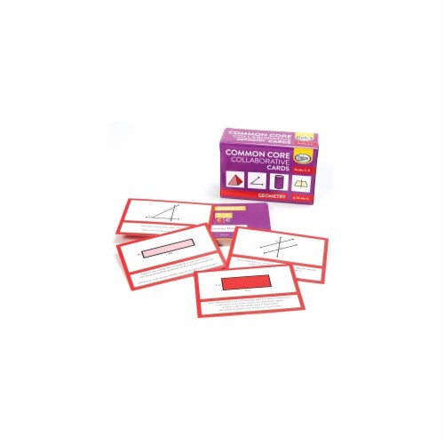 Didax DD-211770 Common Core Collaborative Cards Perspective: front