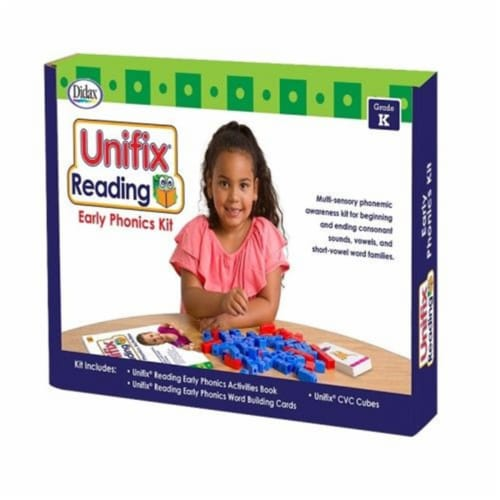 Didax DD-211277 Unifix Reading Early Phonics Kit Perspective: front