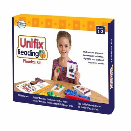 Didax DD-211278 Unifix Reading Phonics Kit Perspective: front