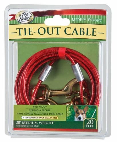 Pet Select Tie Out Cable Perspective: front