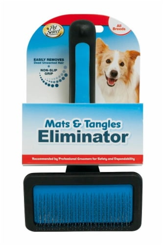 Pet Select Slicker Wire Dog Brush Perspective: front