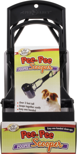 Pet Select Spring Action Pooper Scooper Perspective: front