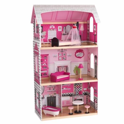 KidKraft Bonita Rosa Dollhouse Perspective: front