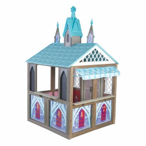 KidKraft Disney® Frozen Arendelle Playhouse Perspective: front