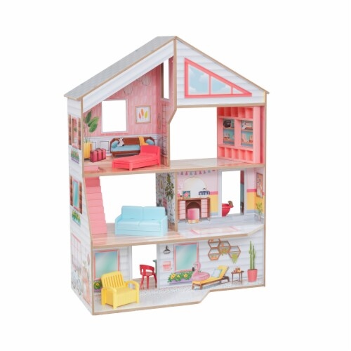 KidKraft Charlie Dollhouse Perspective: front