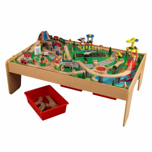 KidKraft Waterfall Mountain Train Set & Table Perspective: front