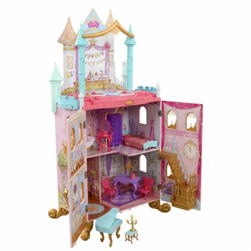 KidKraft KidKraft Disney Princess Dance & Dream Dollhouse Perspective: front