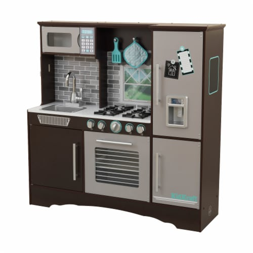 KidKraft Culinary Play Kitchen - Espresso Perspective: front