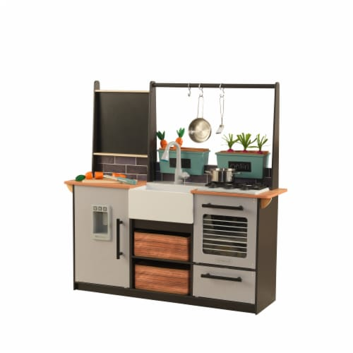 KidKraft Farm to Table Play Kitchen with EZ Kraft Assembly™ Perspective: front