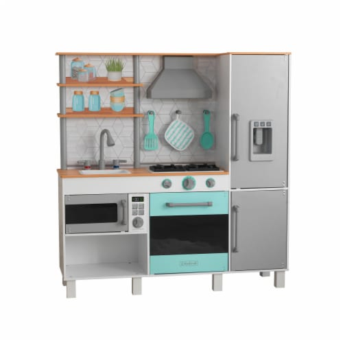 KidKraft Gourmet Chef Play Kitchen with EZ Kraft Assembly™ Perspective: front