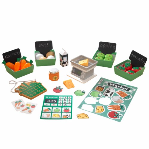 KidKraft Farmer's Market Play Pack Perspective: front