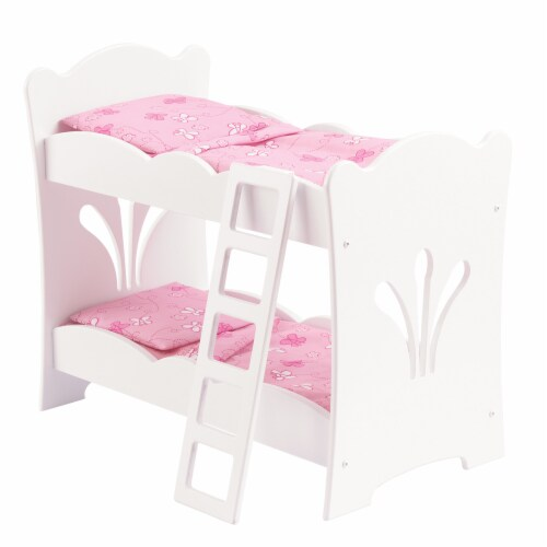 KidKraft Lil' Doll Bunk Bed Perspective: front