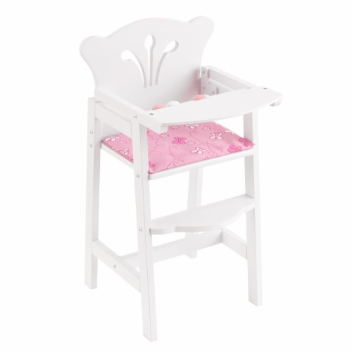 KidKraft Lil' Doll High Chair Perspective: front