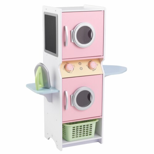 KidKraft Laundry Playset - Pastel Perspective: front