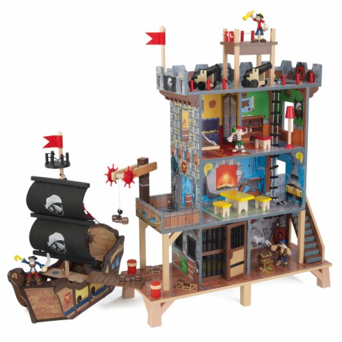 KidKraft Pirate's Cove Play Set Perspective: front